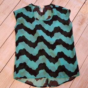 Sheer Blouse size Small